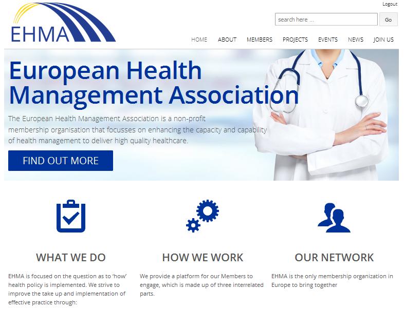 new ehma website